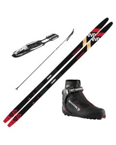 2021 Rossignol Evo OT 65 Skis w/ Rossignol X5 Boots and Poles