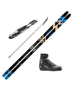 2021 Rossignol Evo XC 60 R-Skin Skis w/ Rossignol X5 Boots and Poles