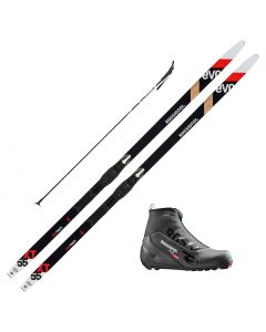 2021 Rossignol Evo XT 55 Skis w/ Rossignol X2 Boots and Poles