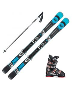 2019 Rossignol Pursuit 200 Ca Skis w/ Tecnica Ten.2 70 Boots and Poles