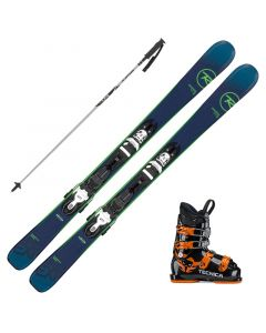 2020 Rossignol Experience Pro Junior Skis w/ Tecnica JT4 Boot and Poles