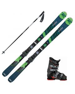 2020 Rossignol React R4 Sport Ca Skis w/ Dalbello DS MX 65 Boots and Poles