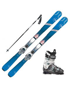2020 Rossignol Experience 74 Women's Skis w/ Dalbello DS MX 70w Boot and Poles
