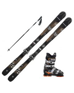2021 Rossignol Experience 76 CI Skis w/ Dalbello MX 80 Boots and Poles