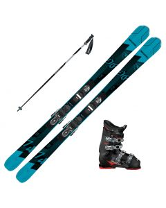 2021Rossignol Experience 74 Skis w/ Dalbello MX 65 Boots and Poles