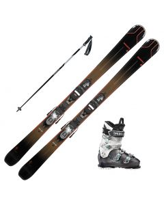 2021 Rossignol Experience 76 CI Womens Skis w/ Dallbello MX 70W Boots and Poles