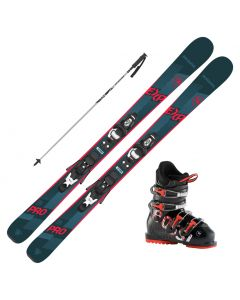 2021 Rossignol Experience Pro Jr Skis w/ Rossignol Comp J Boots and Poles