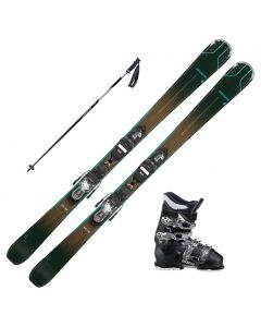 2021Rossignol Experience 74 Womens Skis w/ Dalbello MX 65W Boots and Poles