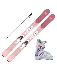 2022 Rossignol Experience Pro W Junior Skis w/ Rossignol Fun Girl Boots and Pole