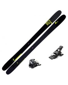 2020 K2 Poacher Skis w/ Tyrolia Attack2 13 GW Bindings