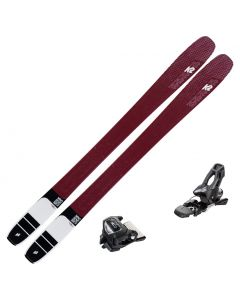 2020 K2 Mindbender 106C Alliance Women's Skis w/ Tyrolia Attack2 11 GW Bindings
