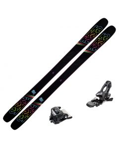 2020 K2 Missconduct Women's Skis w/ Tyrolia Attack2 11 GW Bindings