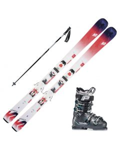 2020 K2 Anthem 76 Women's Skis w/ Tecnica Mach Sport 75w Boot and Poles