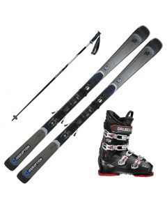 2021 K2 Disruption 76 Skis w/ Dalbello DS MX 65 Boots and Poles