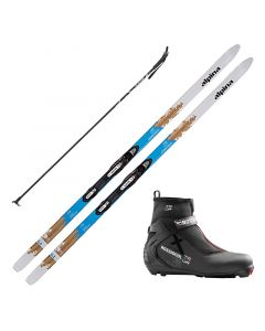 2018 Alpina Control 64 W NIS Cross Country Skis w/ Rossignol X3 Boots and Poles