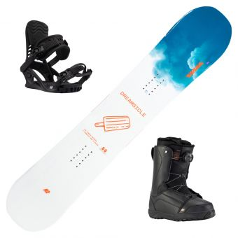2021 K2 Dreamsicle Women's Snowboard w/ Boots and Bindings