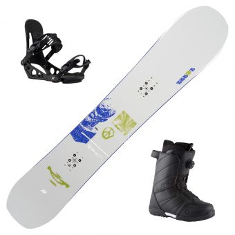 2022 K2 Broadcast Snowboard w/ Boots and Bindings