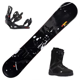 2022 K2 Standard Snowboard w/ Boots and Bindings