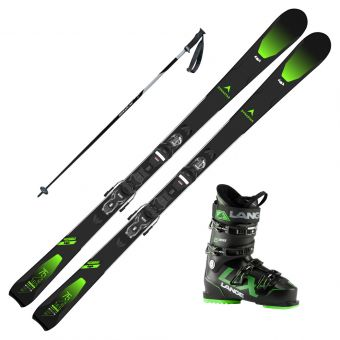 2021 Dynastar Speed Zone 4x4 75 Skis w/ Lange LX 100 Boots and Poles
