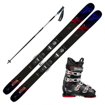 2022 Dynastar Menace 90 Skis w/ Dalbello DS MX 65 Boots and Poles
