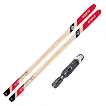 2022 Alpina Discovery 80 Back Country Skis w/ Rotteffla Bc Magnum Bindings