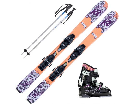 Girl's Seasonal Ski Lease