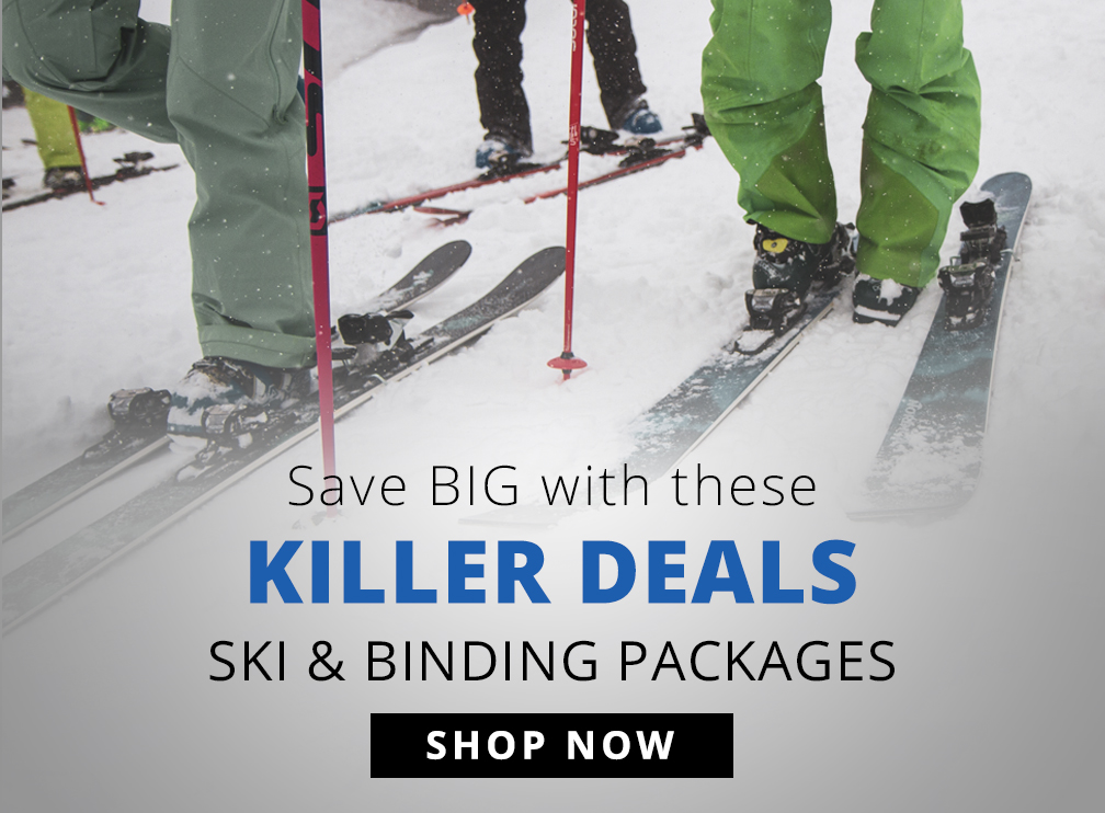 Killer Deals - Ski and Binding Packages - Shop Now