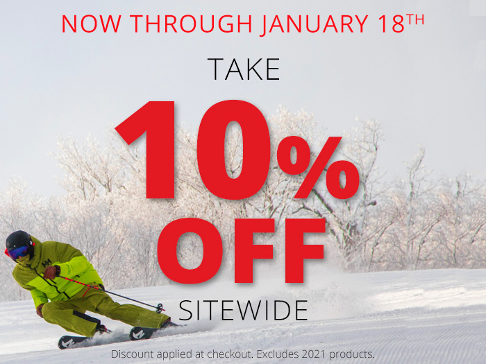 Take 10% Off Sitewide, now thru 1/18/2021. Discount applied at checkout. Shop Now.