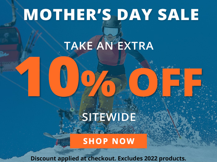 Mother's Day Sale - take an extra 10% off sitewide.  Discount applied at checkout. Excludes 2022 products. Sale runs through Monday, May 10th.  Shop Now.