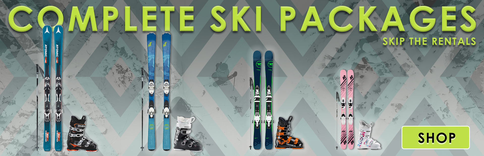 Full Ski Package Slider Banner